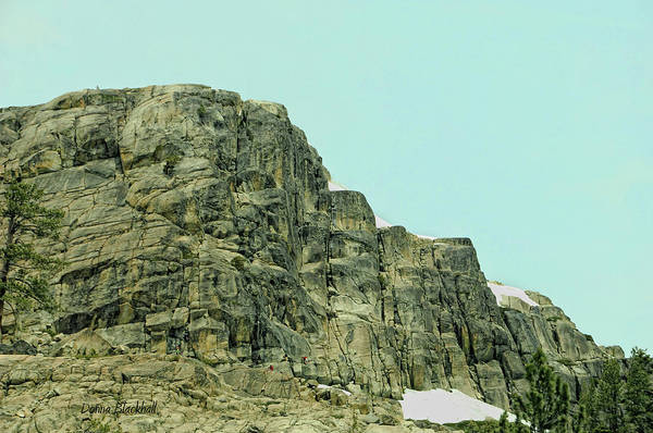 Donner Photograph - Find The Climbers by Donna Blackhall