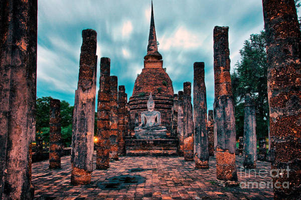 Photograph - Finding Happiness In Sukhothai, Thailand by Sam Antonio Photography