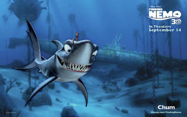 Animal Digital Art - Finding Nemo by Maye Loeser