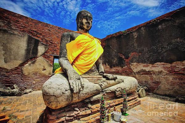 Photograph - Finding, Not Seeking At Wat Worachetha Ram In Ayutthaya, Thailand by Sam Antonio Photography