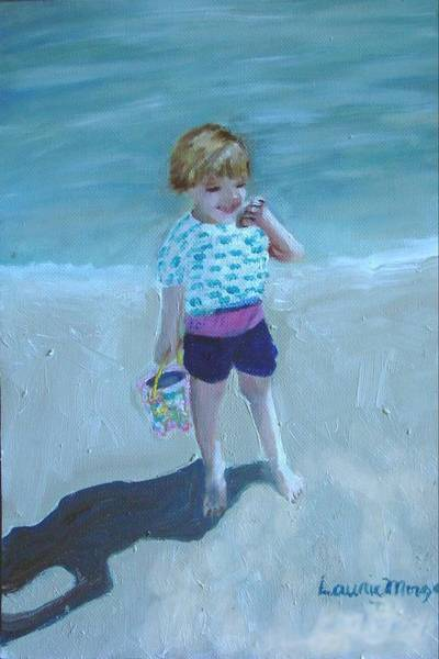 Painting - Finding Treasure by Laurie Morgan