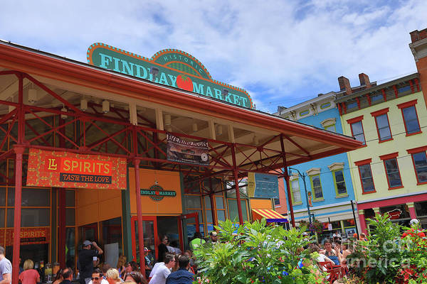 Findlay Market Photograph - Findlay Market In Cincinnati by Pam Burley