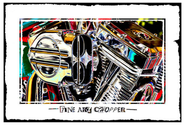 Wall Art - Photograph - Fine Art Chopper II by Mike McGlothlen