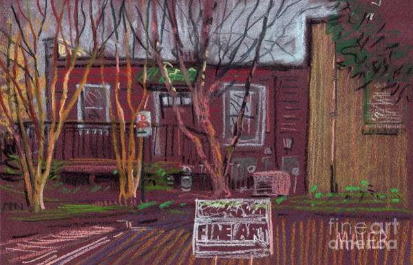 Shops Drawing - Fine Art by Donald Maier
