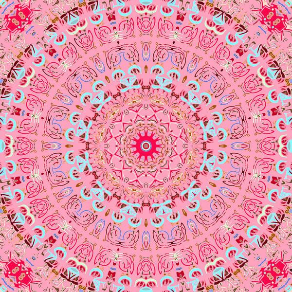 Digital Art - Fine China Kaleidoscope by Joy McKenzie