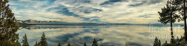 Wall Art - Photograph - Fine Mist Lake Tahoe by Vance Fox