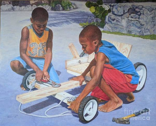 Painting - Fine Tuning by Nicole Minnis