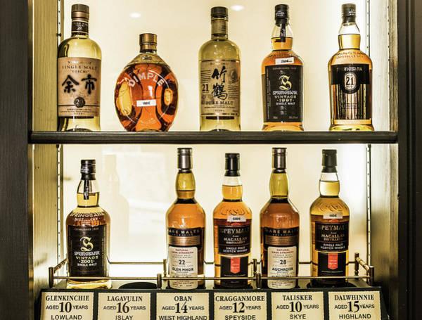 Irish Whiskey Photograph - Fine Whiskies Of The World by Georgia Fowler