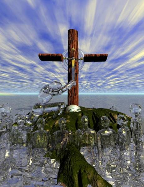 Digital Art - Finish Holy by Darren Cannell