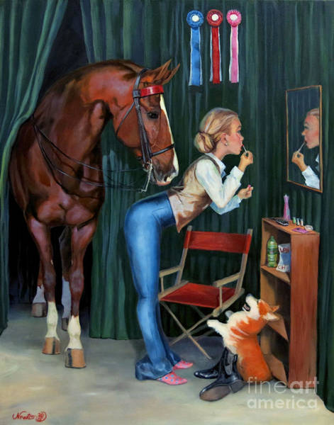 Wall Art - Painting - Finishing Touches by Jeanne Newton Schoborg
