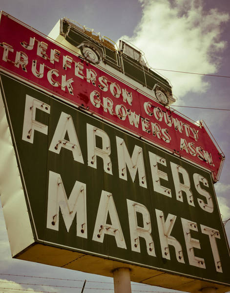 Photograph - Finley Ave Farmer's Market by Just Birmingham