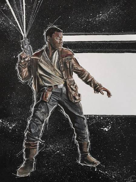 Painting - Finn by Joel Tesch