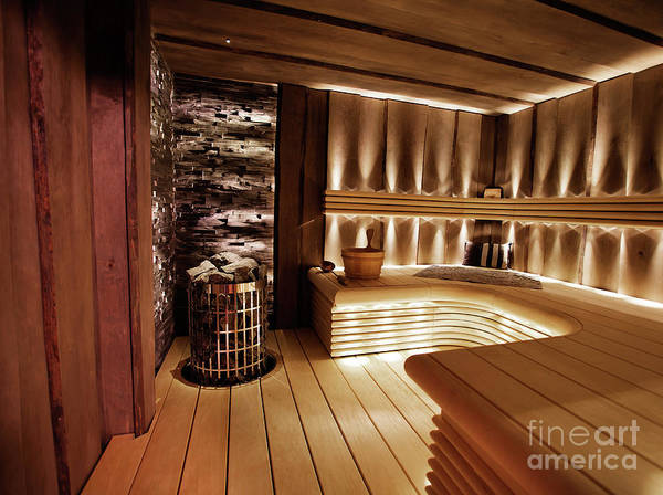 Wall Art - Photograph - Finnish Sauna by Kati Finell