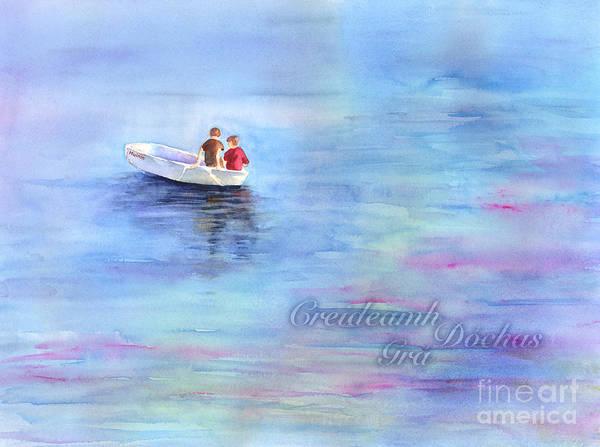 Painting - Adrift, Muinin by Amy Kirkpatrick