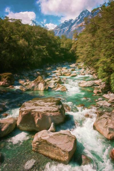 Photograph - Fiordland National Park New Zealand by Joan Carroll