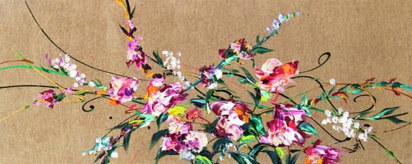 Wall Art - Painting - Fiori #69 by Jonas Gerard