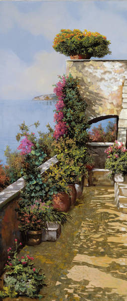 Terraces Wall Art - Painting - Fiori Ovunque by Guido Borelli