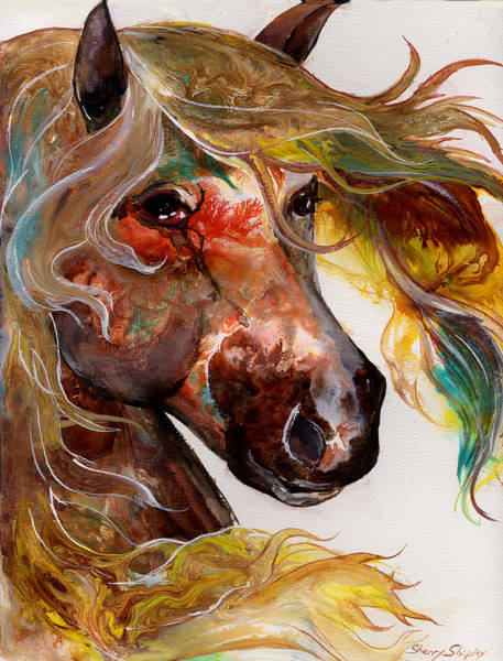 Painting - Fire Agate by Sherry Shipley