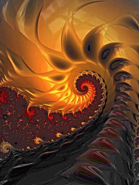 Digital Art - Fire And Brimstone by Amanda Moore