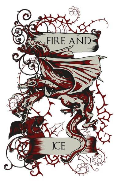 Digital Art - Fire And Ice by Christopher Meade