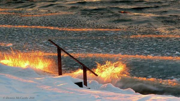 Photograph - Fire And Ice by Dennis McCarthy