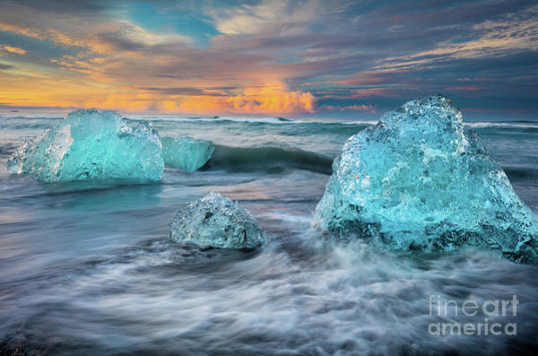 Photograph - Fire And Ice by Inge Johnsson