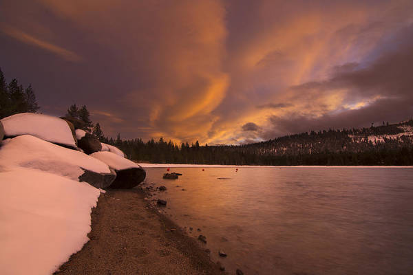 Donner Photograph - Fire And Ice by Jeremy Jensen