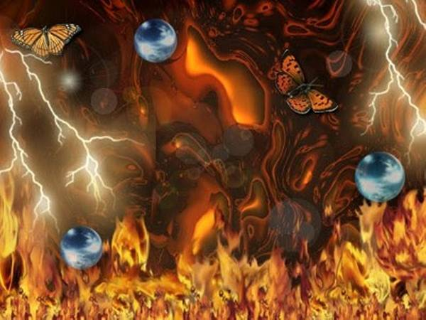 Digital Art - Fire And Lava by Darren Cannell