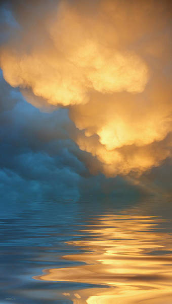 Atmospherics Wall Art - Photograph - Fire And Water by Jerry McElroy