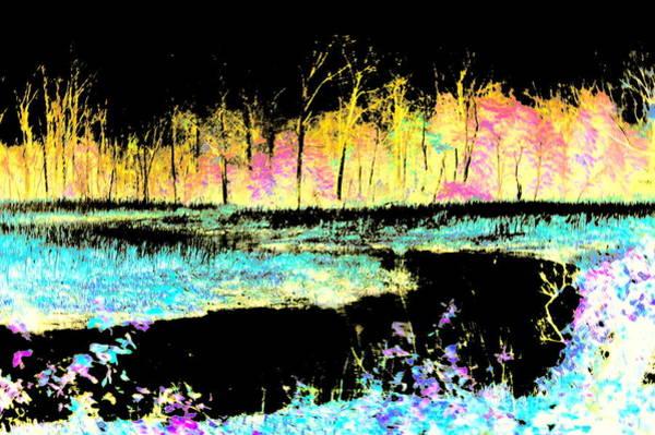 Photograph - Fire Creek by Buddy Scott