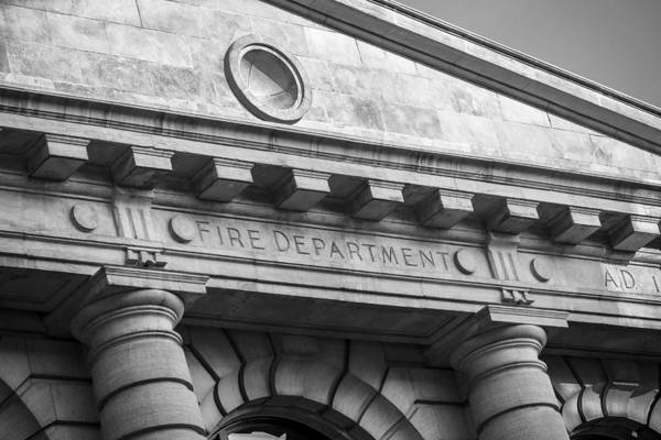 Central Fire Station Photograph - Fire Department Headquarters by Steven Bateson