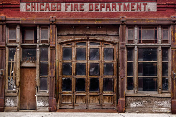 Photograph - Fire Department by Stewart Helberg