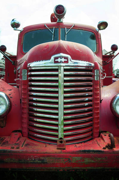 Photograph - Fire Engine by Bud Simpson