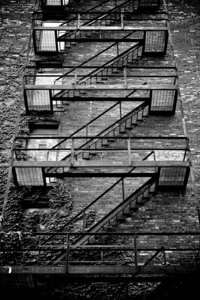 Romeo And Juliet Photograph - Fire Escape by Odd Jeppesen