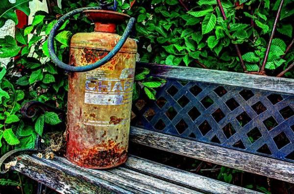 Photograph - Fire Extinguisher by David Matthews