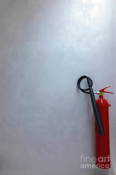 Photograph - Fire Extinguisher by Mats Silvan