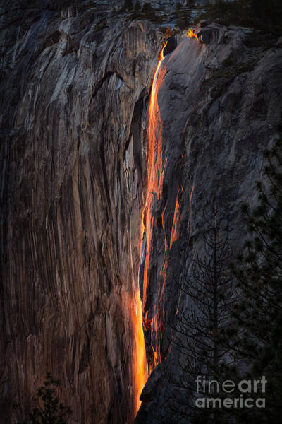 Photograph - Fire Fall by Anthony Bonafede