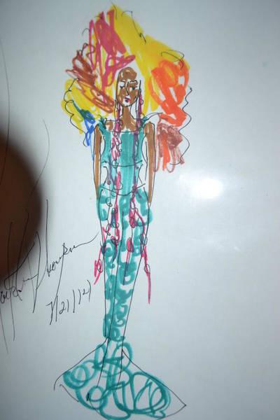 Wall Art - Photograph - Fire Hair Girl by Love Art Wonders By God