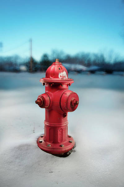Water Hydrant Photograph - Fire Hydrant by Yo Pedro