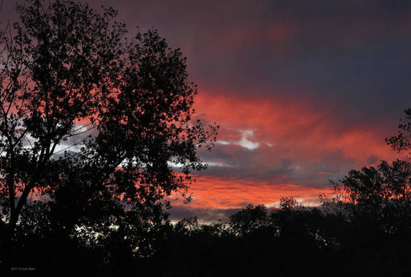 Photograph - Fire In The Sky 1 by Frank Mari