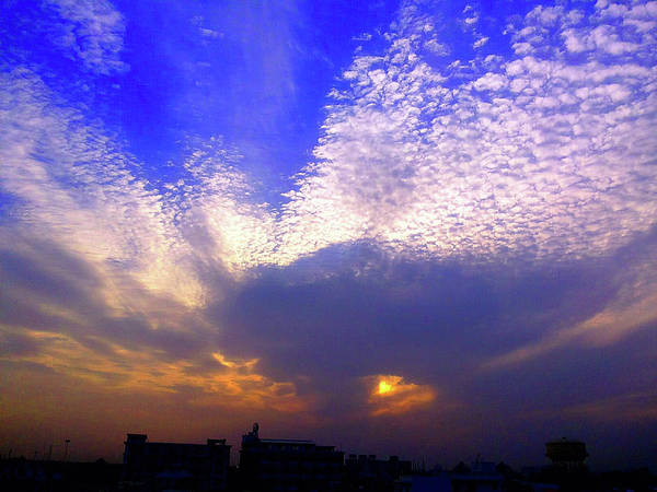 Photograph - Fire In The Sky by Atullya N Srivastava