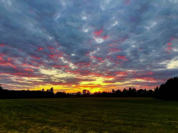 Photograph - Fire In The Sky by Brian Eberly