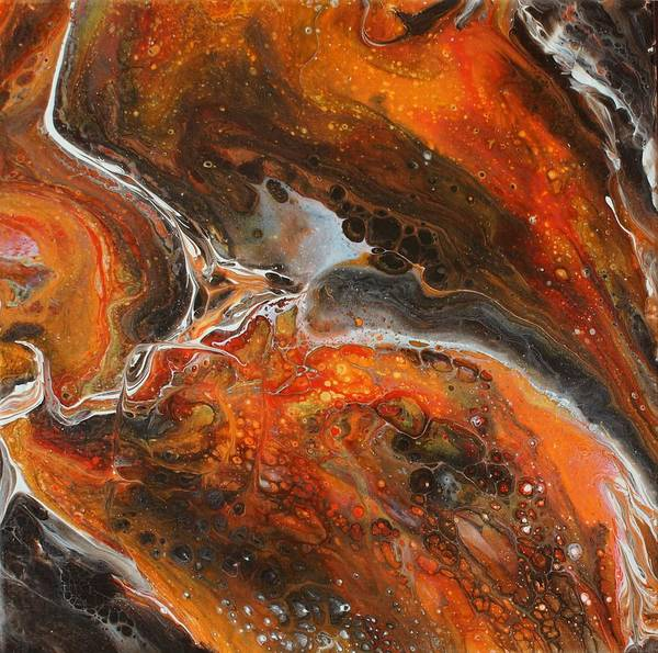 Painting - Fire In The Sky by Joanne Smoley