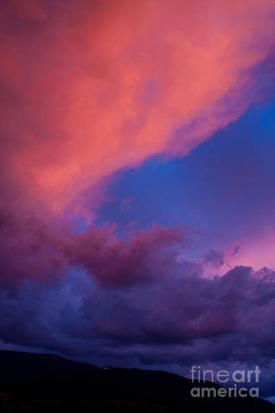 Photograph - Fire In The Sky Over Traveler's Rest by Katie LaSalle-Lowery