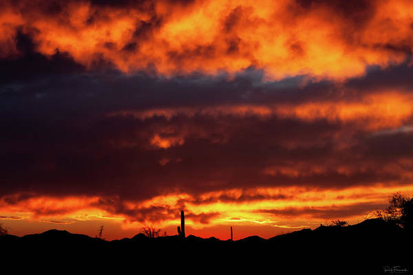 Photograph - Fire In The Sky by Rick Furmanek