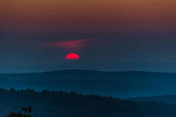 Photograph - Fire In The Sky by Robert McKay Jones