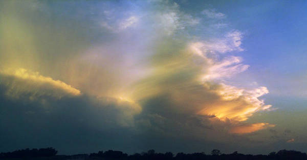 Photograph - Fire In The Sky by Rod Seel