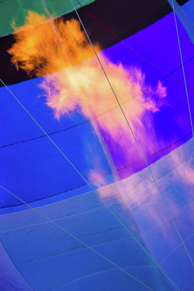Photograph - Fire Inside The Balloon by Robin Zygelman