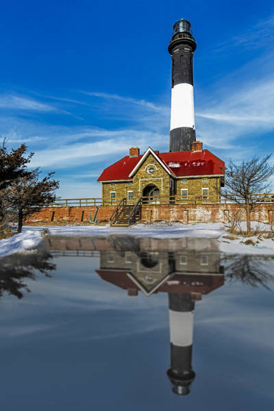 Photograph - Fire Island Lighthouse by Susan Candelario