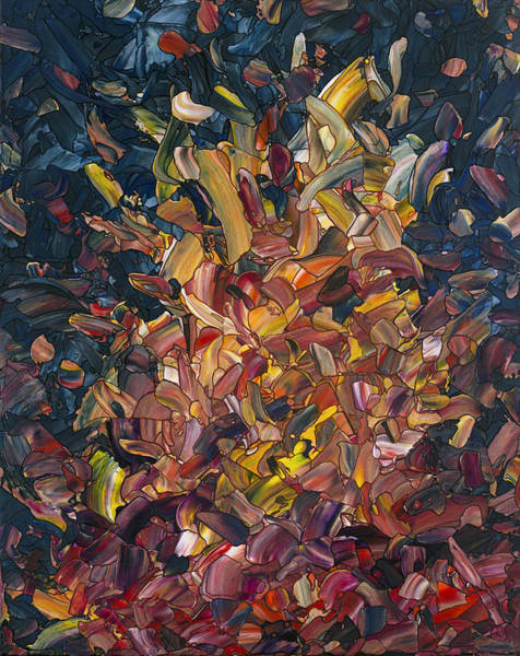 Painting - Fire by James W Johnson